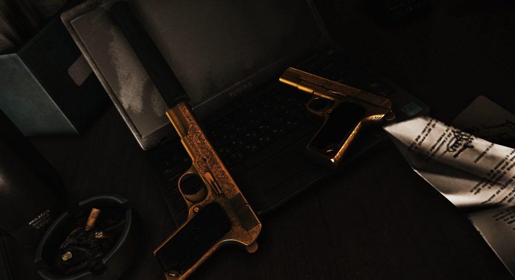 2 Golden Guns - EFT Wallpaper