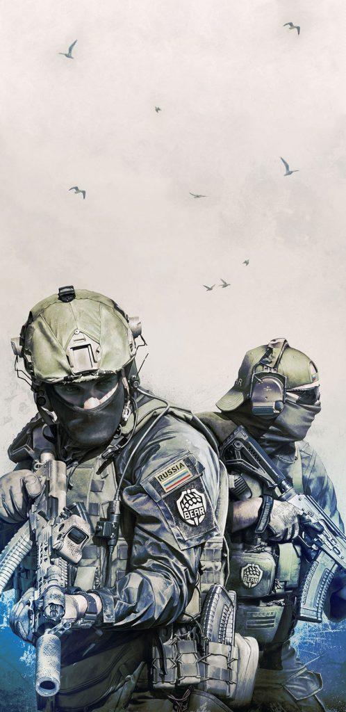 Two EFT Soldiers - EFT Wallpaper