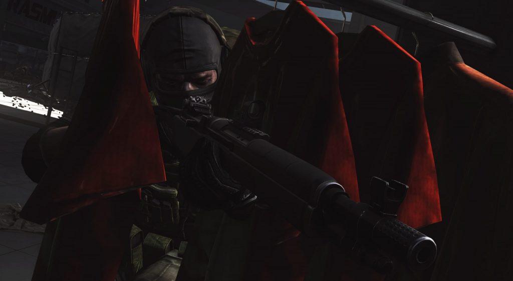 Soldier Hiding - EFT Wallpaper