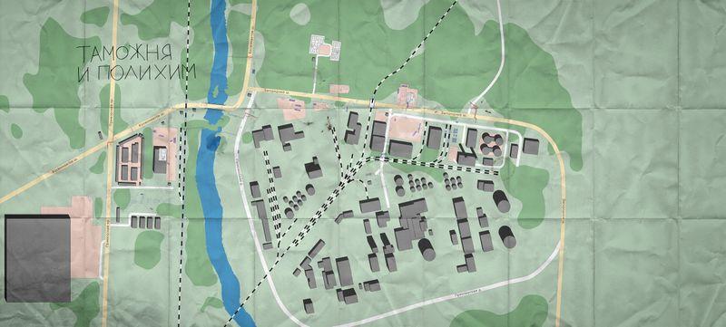 Customs Map Tarkov