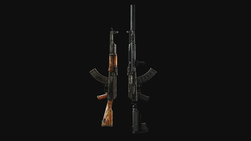 Two weapons - Escape from Tarkov Wallpaper