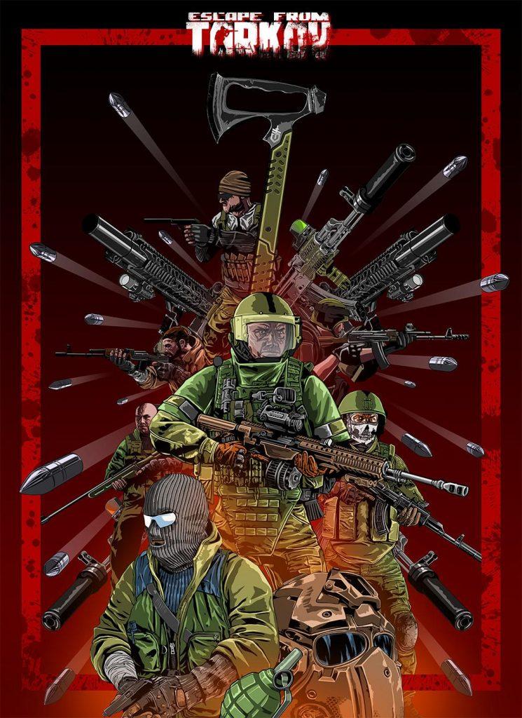 Tarkov Poster - EFT phone wallpaper