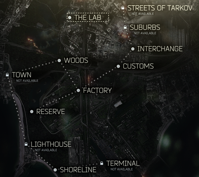 Map of Tarkov